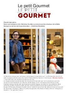 Le Petit Gourmet - 20/12/2017